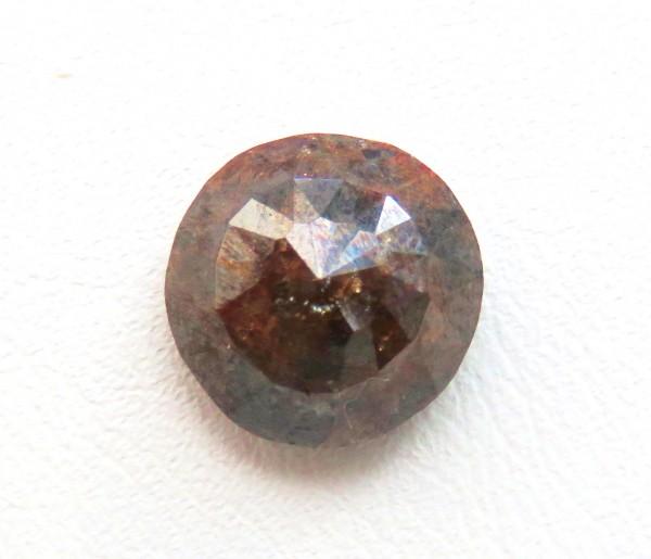 Diamant lose Naturbraun opak 3,28 Karat etwas für Liebhaber