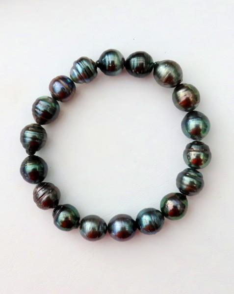 Tahiti Perlen Armband Perlen Armband Tahiti Unikat Armband handgefertigt 4664